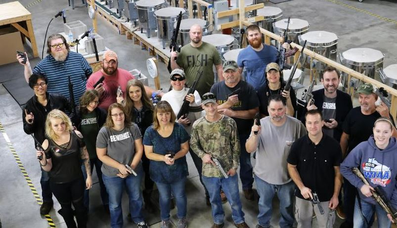 wisconsin company buys guns for all