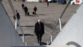 Bernie Sanders Spent Nearly $300,000 on Private Air Travel in October Alone