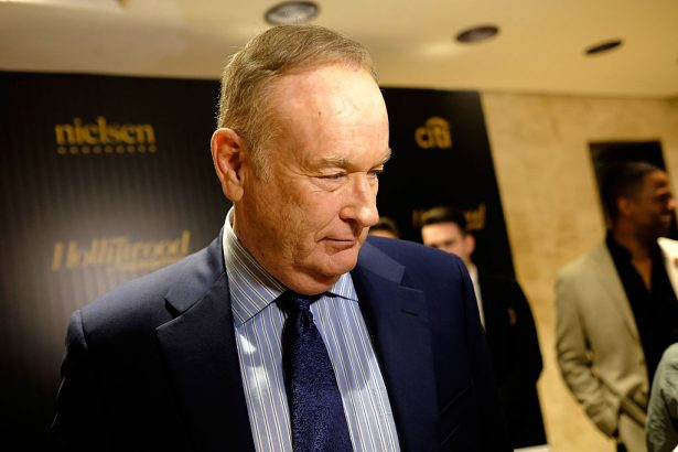 Fox News anchor Bill O'Reilly on red carpet