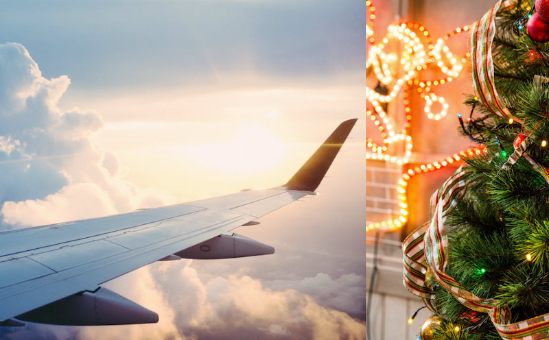 Dad Books 6 Flights to Accompany Flight Attendant Daughter Over Christmas