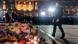 Gathering in Strasbourg Remembers Victims of Christmas Market Attack