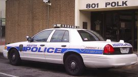 Drunk Driver Rams Houston Police Car, One Officer Severely Injured