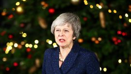 May Expects No Quick Brexit Breakthrough as She Seeks EU Help