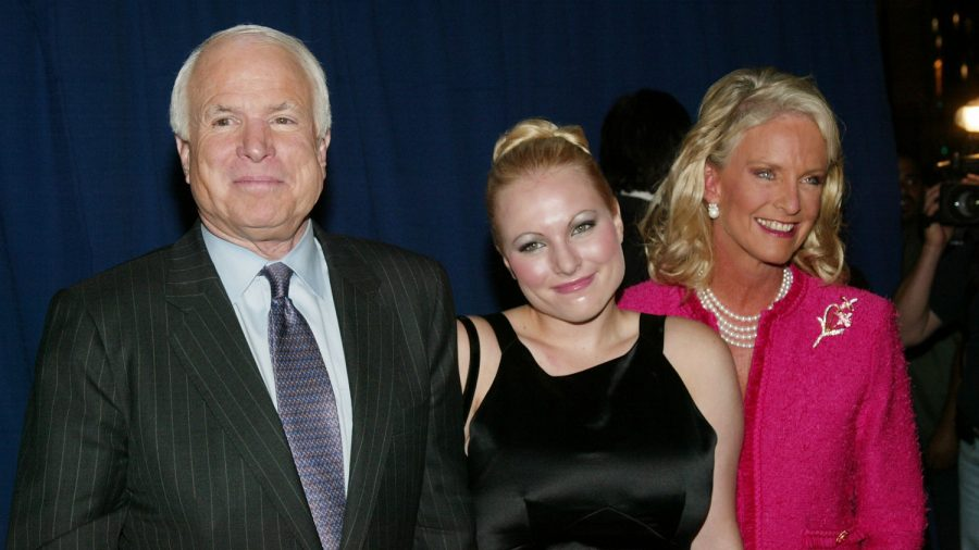 Meghan McCain Gets Emotional for First Christmas Without Her Father