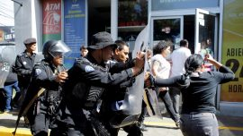 Nicaragua Police Beat Journalists as Leftist Regime Cracks Down on Free Press