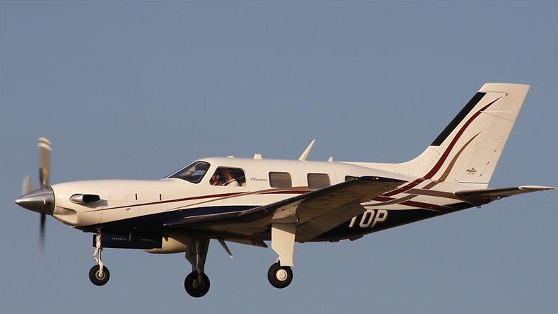 a Piper PA-46 Malibu