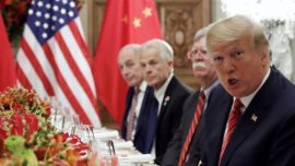 Trump Meets Chinese Leader to Discuss Trade War