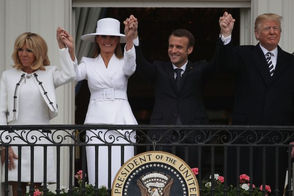 Trump-Melania-Emmanuel-and-Brigitte-Macron-White-House-600x400