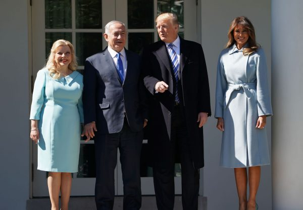 Trump-Melania-Isreal-Prime-Minister-and-wife-600x415