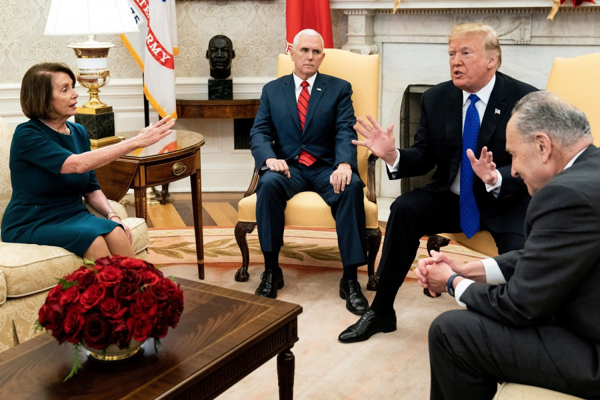 Trump meets with Democrat leaders