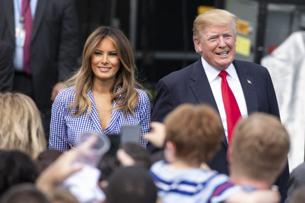 Trump-and-Melania-4th-of-July-600x400