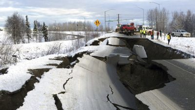 Powerful Aftershocks Arrive in Alaska for Beginning of the New Year