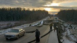 Alaska Earthquake Aftermath Displayed in Pictures