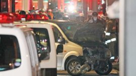 9 Injured After Car Rams Into Crowd in Tokyo on New Year's Day