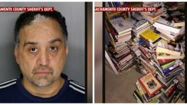 Man Arrested After Thousands Stolen Library Books and DVDs Found in His Home