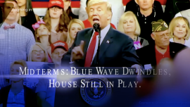 Midterms: Blue Wave Dwindles, House Still in Play