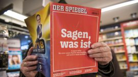 Der Spiegel 'Fake News' Reporter to Face Criminal Charges