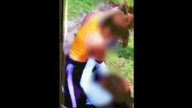 Video: Florida Mother Coaches Her Teenage Daughter as She Fights Another Teen