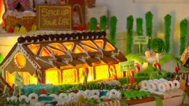 Architects Build Delicious Gingerbread City