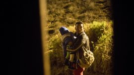 8-Month-Old Boy Pushed Under Hole in Border Wall as Migrants Enter US