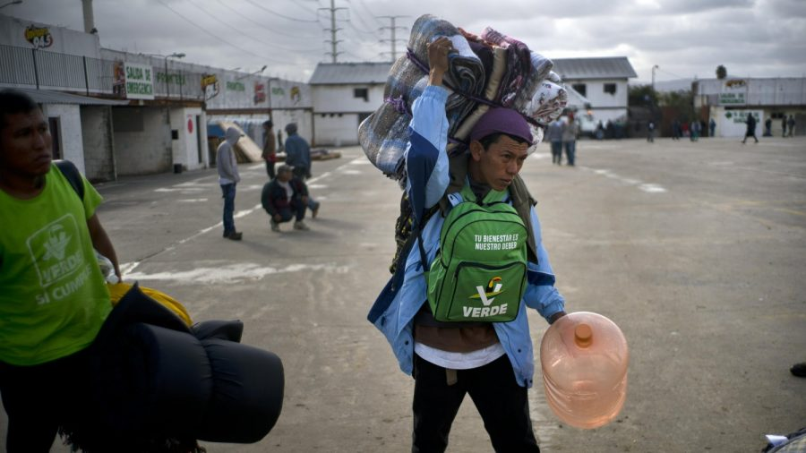 Mexico Starts Moving Some Migrants to New Shelter