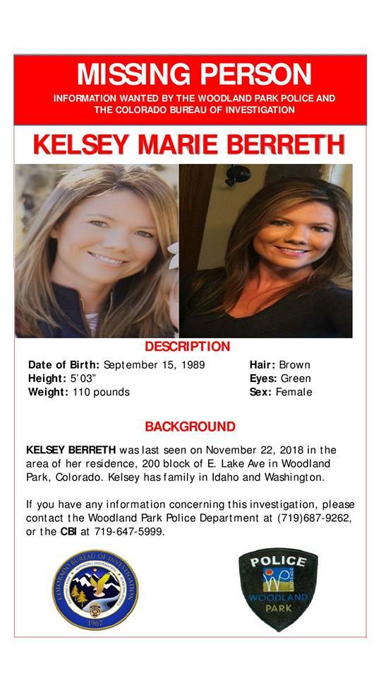missing person kelsey berreth