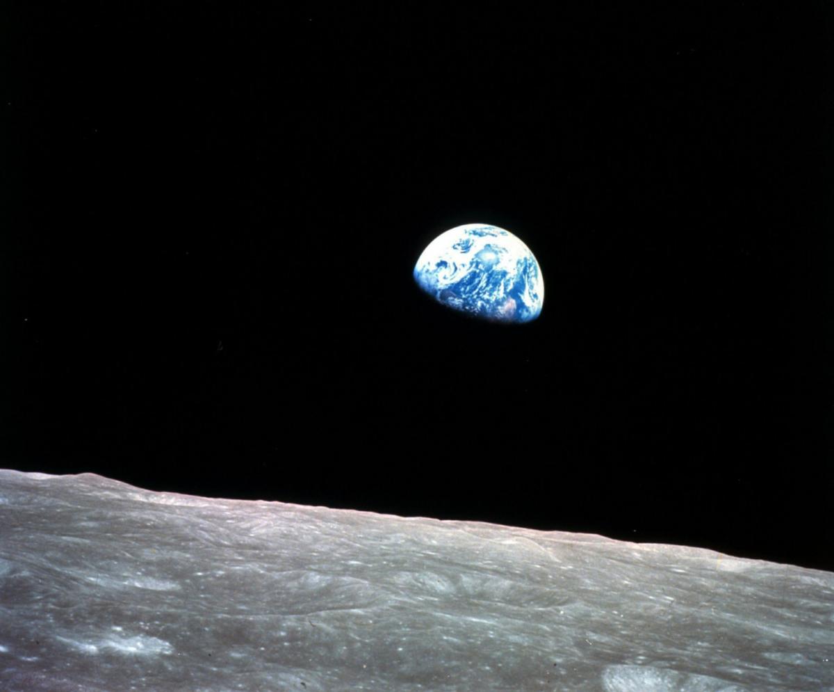 moon during Apollo 8
