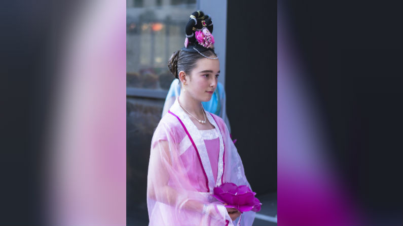 perth christmas pageant 2018 celestial maiden