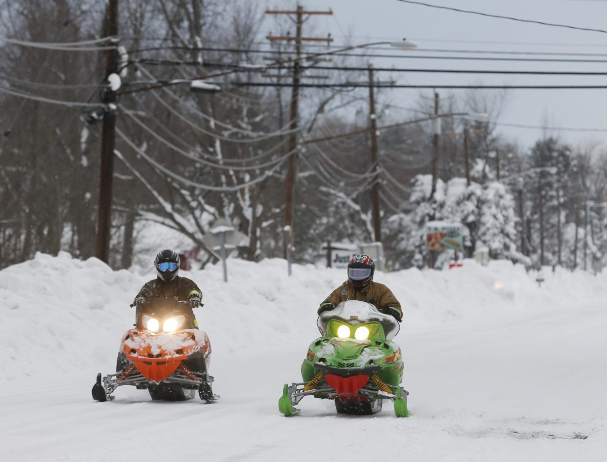 snowmobiles in new york