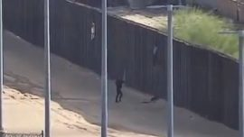 Two Female Teens Fall Off Border Wall While Trying to Enter United States