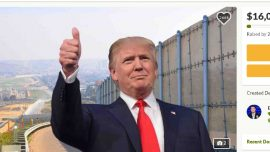 GoFundMe for Trump's Wall Raises $16 Million, Becomes No. 2 All-Time