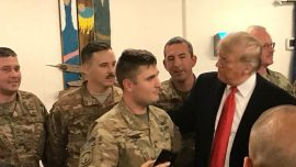 Sarah Sanders Shares Powerful Moment Between US Soldier and President Trump