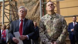 Bolton Says U.S. Withdrawal From Syria Conditional on Protection for Kurds