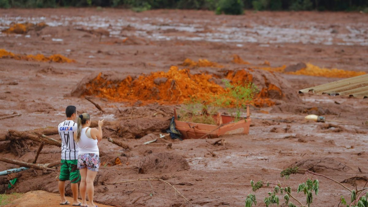 Brazil dam exploded feat