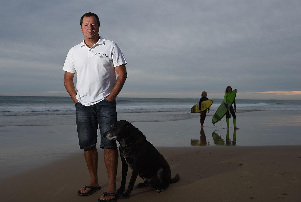 Dave Pearson Bull Shark Attack Survivor