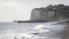 Police Issue Warning After Tourists Dangle Legs Over UK Cliff: 'It Is Incredibly Dangerous'