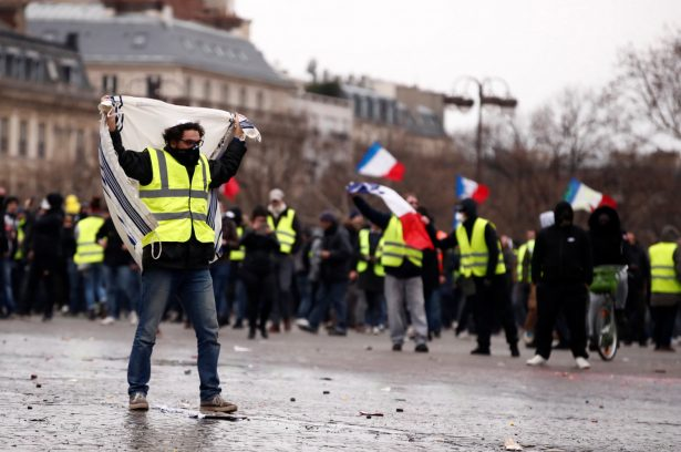 FRANCE PROTESTS 1