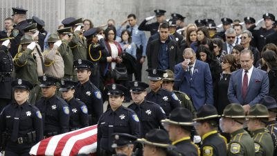 California Officer Slain Weeks Into Job Was 'Perfect Cop'
