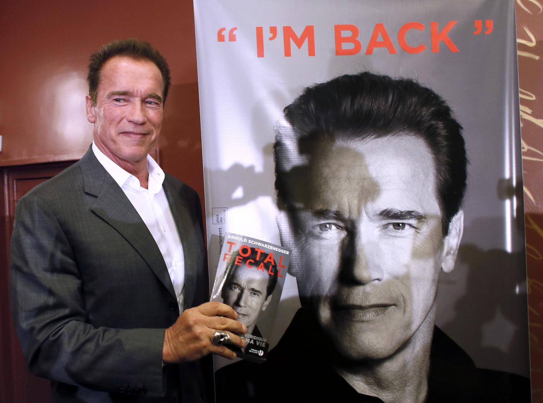 Former California governor Arnold Schwarzenegger