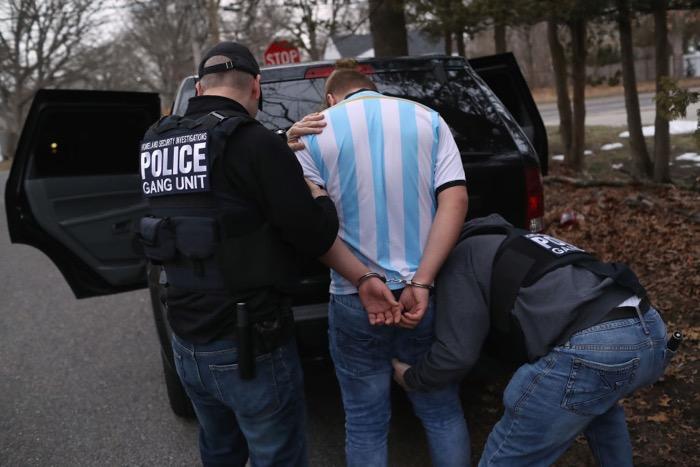 Agents arrest MS-13 member