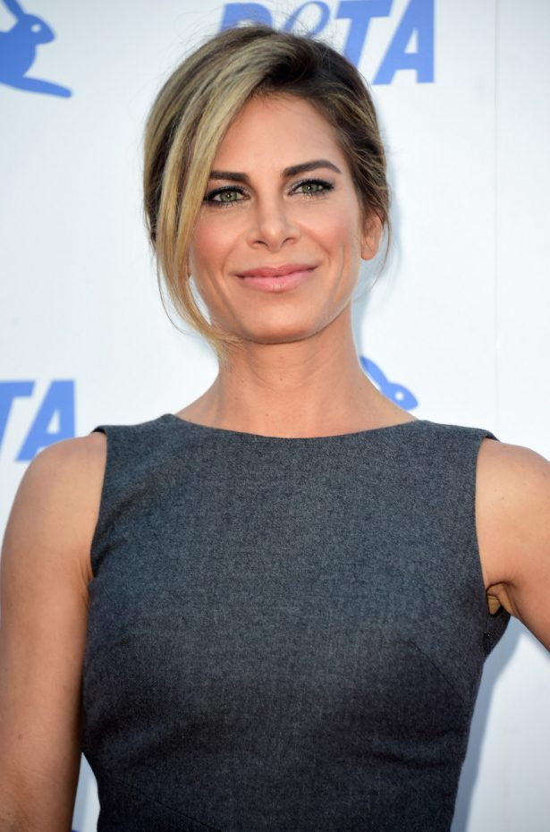 Jillian Michaels attends PETA's 35th Anniversary Party.