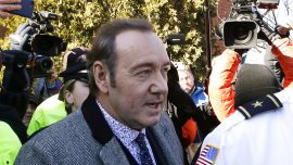 Kevin Spacey Appears at Court for Hearing in Groping Case