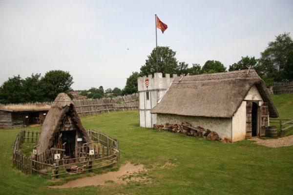 Mountfitchet Castle Keep.