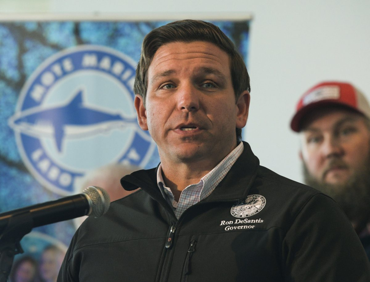 Republican Gov. Ron DeSantis