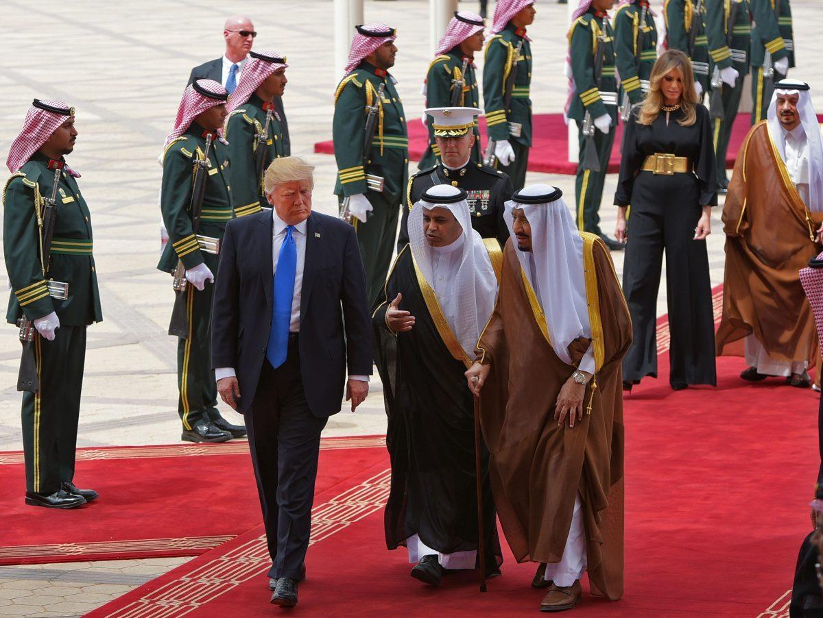 Trump, Saudi