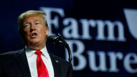 Trump Pays Visit to Hurting Farmers as China Trade War Continues