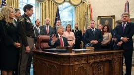 Trump Signs Trafficking Victims Protection Reauthorization Act