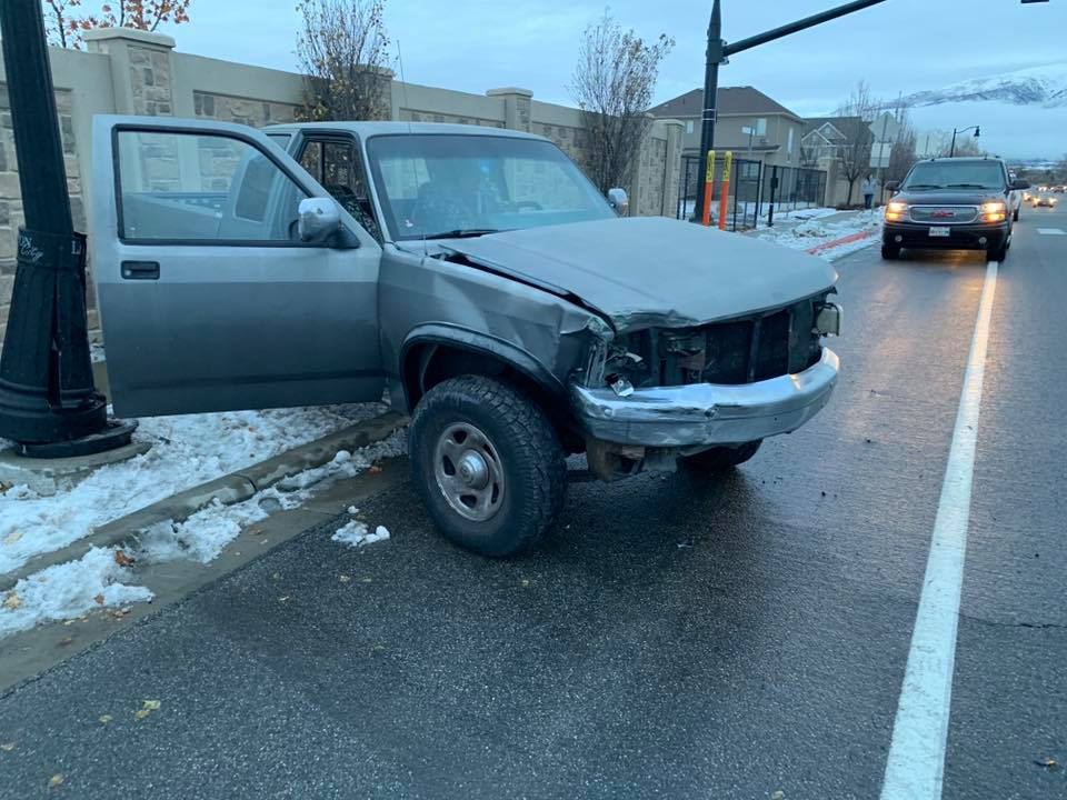 bird box challenge car crash