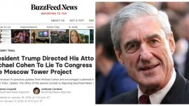 Mueller Team Disputes BuzzFeed Report on Former Trump Lawyer