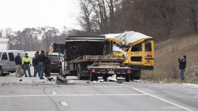 Trucker in Deadly Bus Crash Was Removing Jacket